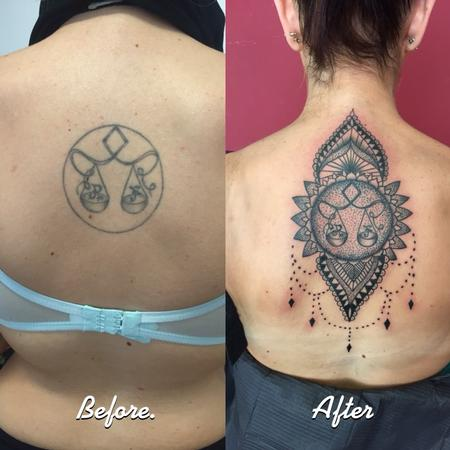 Tattoos - Restyling libra decorative - 119538