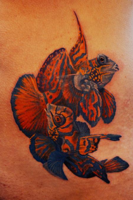 tropical fish Tattoo Design Thumbnail