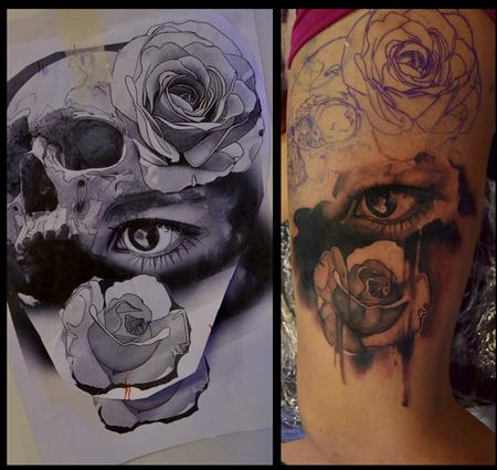 Off the Map Tattoo : Antons Feduns : Tattoos : Page 1