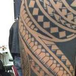 Polynesian arm Tattoo Design Thumbnail