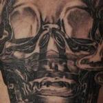 vodka bottle skull Tattoo Design Thumbnail