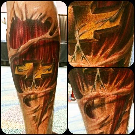 Tattoos - Chevy skin rip - 96440