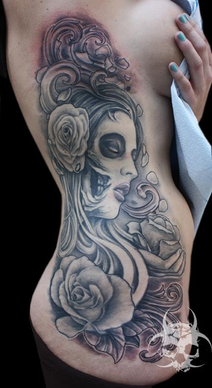 Jeremiah Barba - Day of the Dead piece