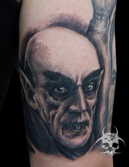 Tattoos - Nosferatu Portrait - 82213