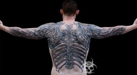 Tattoos - Wings Backpiece - 77617