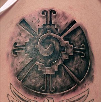 Aztec Tattoos on Tattoos Religious Tattoos Realistic Tattoos Custom Tattoos Description