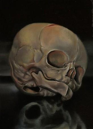 Tattoos - Fetal Skull Art - 38900