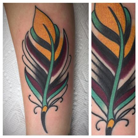 Tattoos - Feather - 128076