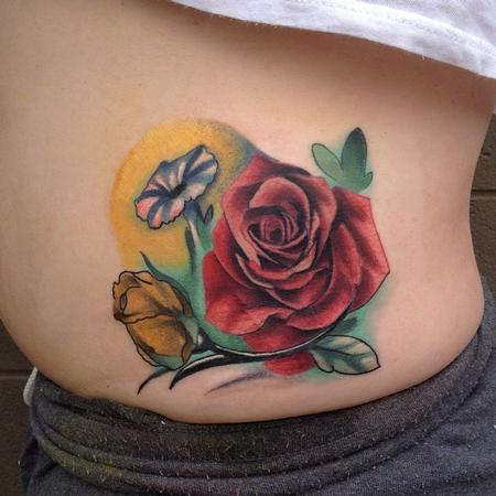 Tattoos - roses and other cool things - 89458