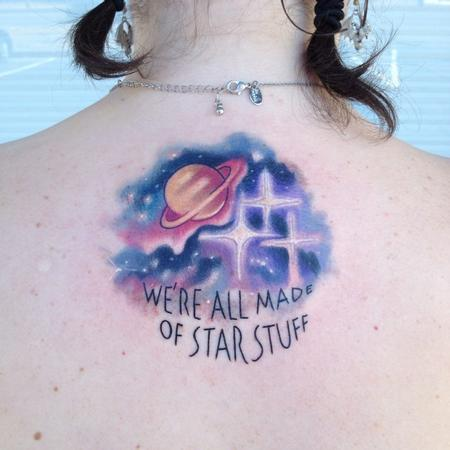 Tattoos - We're all made starstuff - 89040
