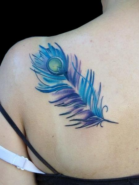 Tattoos - Peacock Feather - 79638