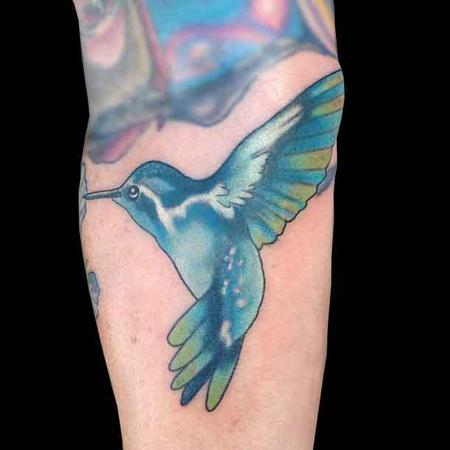 Tattoos - hummingbirds are cool - 79559