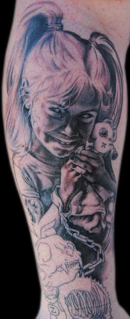 Zombie Little Girl Tattoo Little Girl Zombie by ...