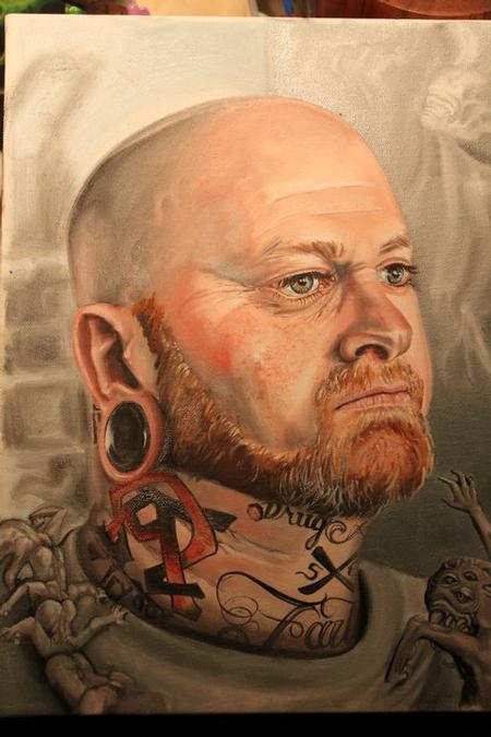 Patrick Sweeney - Dannie Clinage Portrait