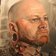 Tattoos - Dannie Clinage Portrait - 79964