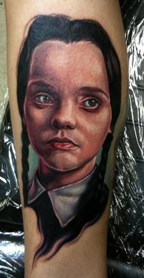 Tattoos - Wednesday Adams - 51622
