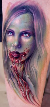 Tattoos - Dead Girl Tattoo - 36457