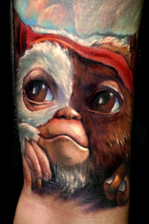 Tattoos - Gizmo from Gremlins Tattoo - 36462