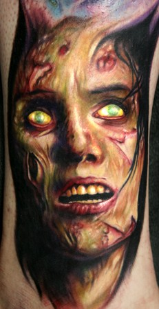 Tattoos - Zombie Girl from the movie