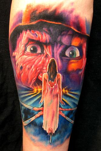 Nightmare on elm st 3 by paul acker tattoonow for Elm street tattoo