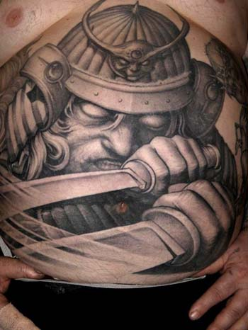Tattoos - Evil warrior tattoo - 28942