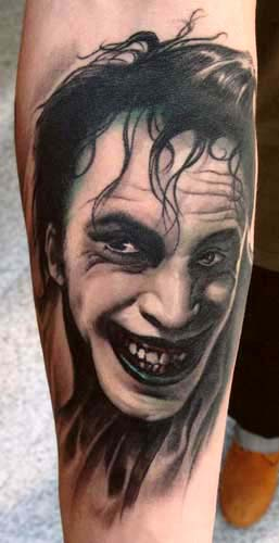 Tattoos - The Joker tattoo - 28898