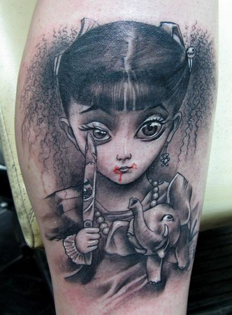 Little dragon by little dragon tattoonow for Little dragon tattoo
