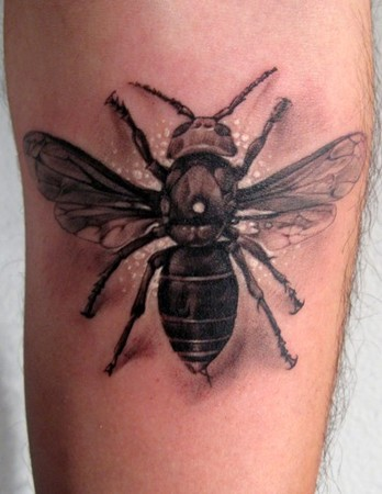 Tattoos on Bee Tattoos