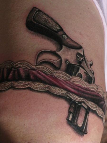 Tattoos - Pistol - 108498