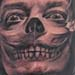 tattoo galleries/ - Salvador Dali skull and crossbones tattoo - 30820
