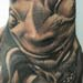 tattoo galleries/ - Surreal pig and skull hand tattoo