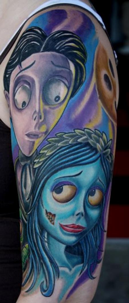 Tattoos - Corpse Bride Tattoo - 81141