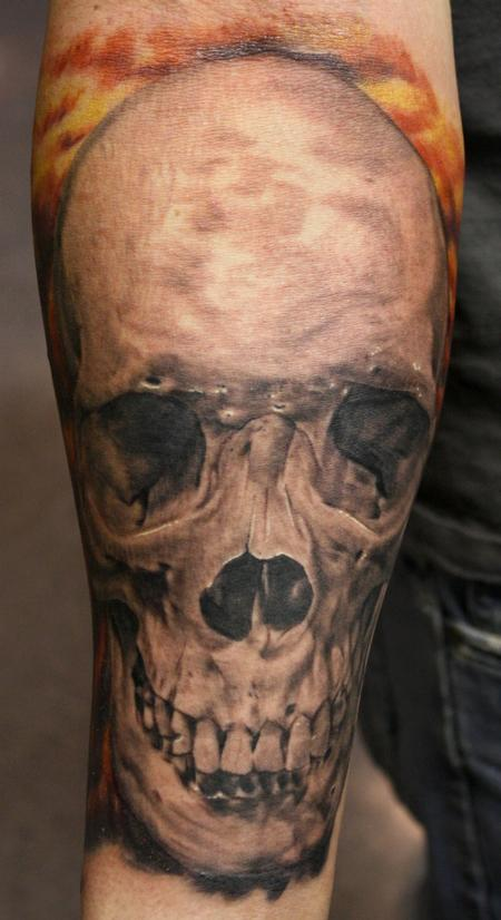 Tattoos - Skull Tattoo  - 74874