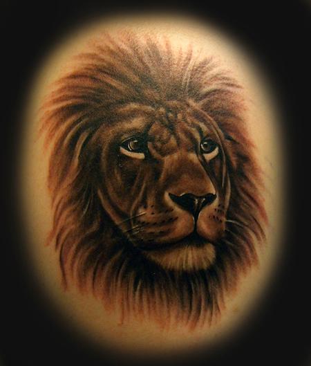 Tattoos - Lion - 62972