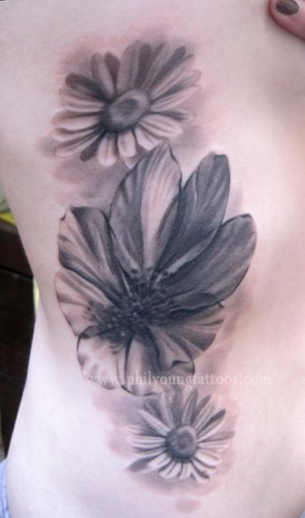 Phil Young - Iceland flowers on ribs