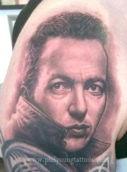 Phil Young - Joe Strummer Tattoo