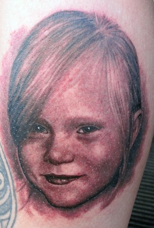 Phil Young - portrait at Fish Eye ink in Sweden