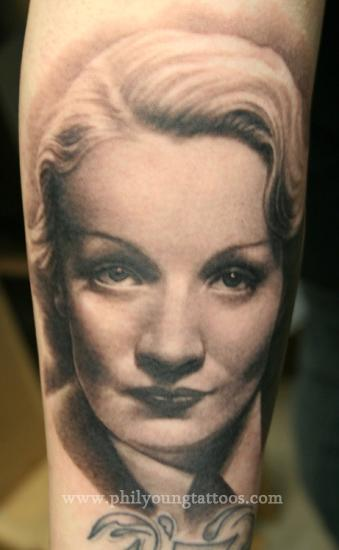 Phil Young - Marlene Dietrich Portrait