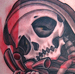 Tattoos - Hell City Skull - 40236