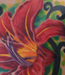 Tattoos - chest lily - 27565