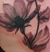 Tattoos - artsy magnolia tattoo - 48803