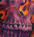 Tattoos - flaming skull - 45974