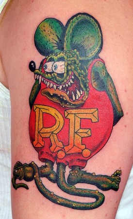 rat fink by paul nolin tattoonow