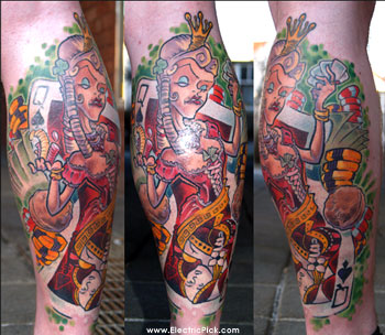 Queen Of Spades Tattoo