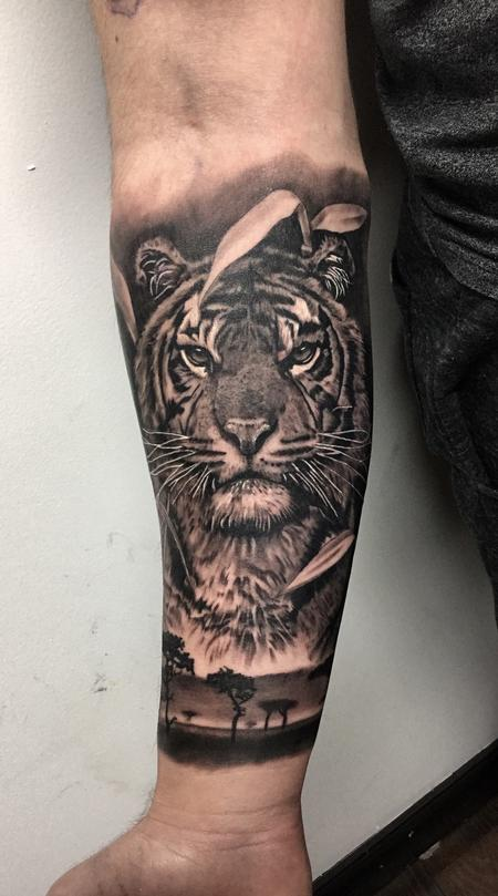 Tattoos - Tiger - 131716