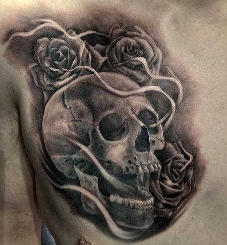Tattoos - Skull - 129844