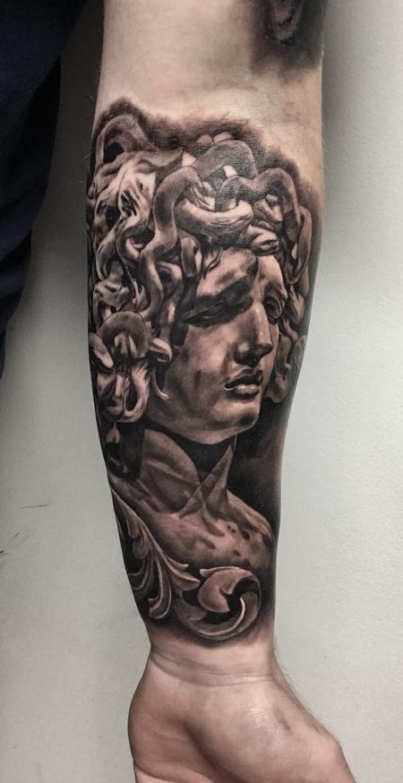 MEDUSA Tattoo Design