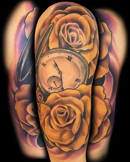 Tattoos yellow roses 88794 for Yellow rose tattoo