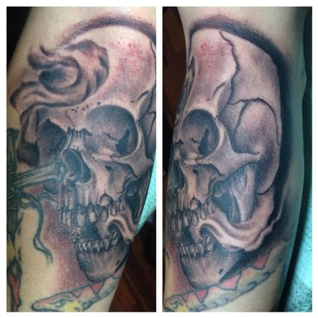 Tattoos - skully - 91266