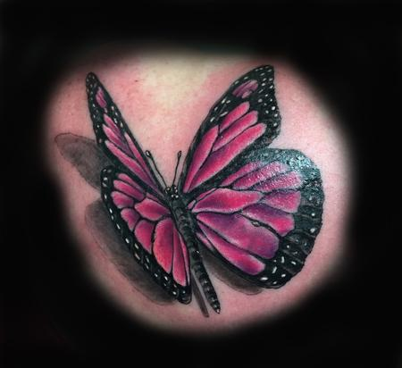 Tattoos - MONARCH BUTTERFLY - 100406